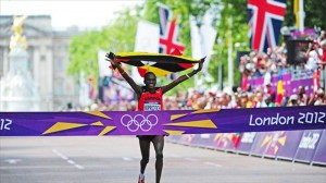 Finishing line - London Olympics Mens Marathon