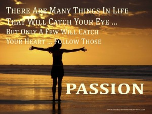 Setting your opwn goals can ignite the passion to smash corparate goals